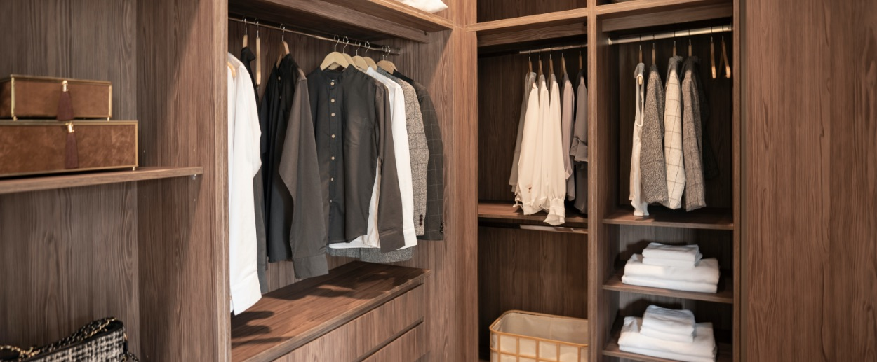 Dressing Room | Thermally-Fused Organizer Panels
