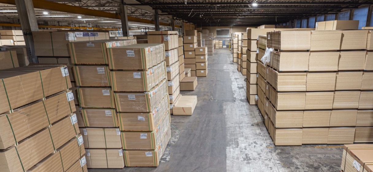 Vizü Warehouse | Laminated Panels, Shelves and Components