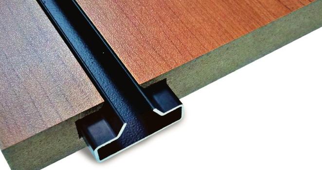 Aluminium robuste pour rainures | Panneaux rainurés résistants