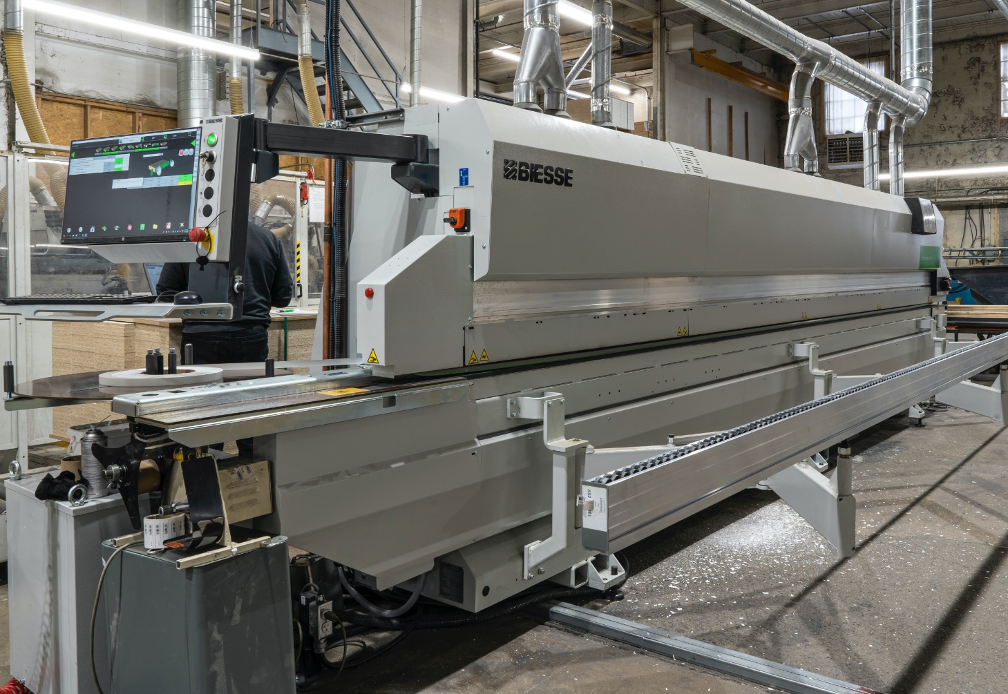 Wood Panel Edgebanding machine | Edgebander | Biesse