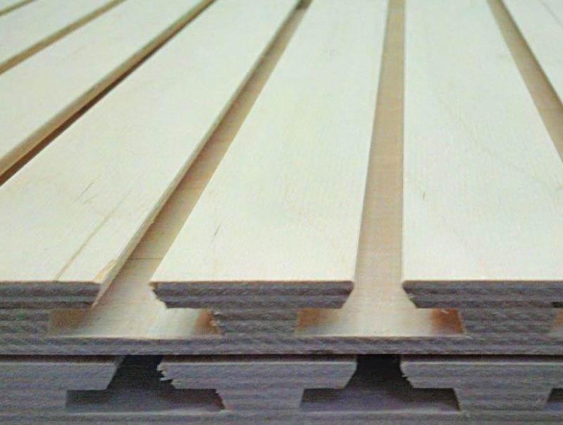 Panneaux rainurés Slatwall | Fabrication sur mesure